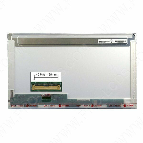 Dalle led lcd screen for clevo p177sm 17.3 1920x1080