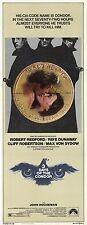 THREE DAYS OF THE CONDOR Movie POSTER 14x36 Insert Robert Redford Faye Dunaway
