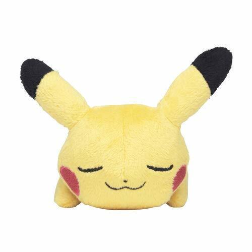 JAPAN OFFICIAL Pokemon Center Original Plush Doll Kuttari Pikachu Sleeping Ver