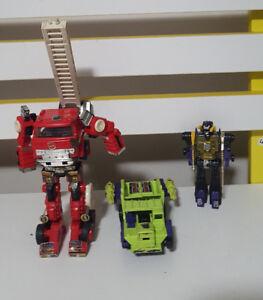 TRANSFORMERS-OLD-1984-TAKARA-GREEN-DUMP-TRUCK-CEJI-G1-INSECTICON