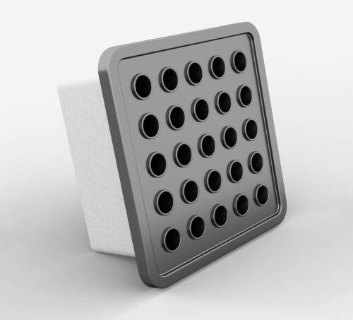 Square Extracteur Ventilateur 168 mm x 168 mm Avec Décoratif Auto Active Air Vent Grille