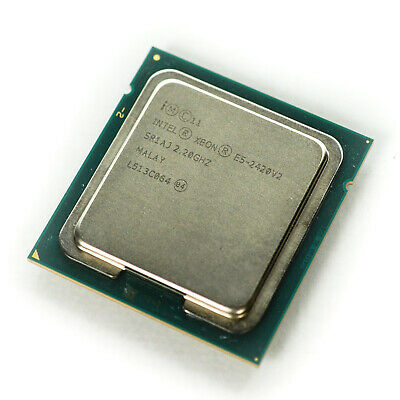 Intel Xeon E5 2420 V2 2.2GHz Six-Core Twelve-Thread 15M LGA 1356 E5-2420v2 CPU Processor 2420 V2
