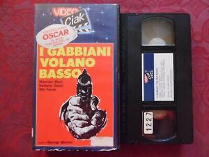 I-Gabbiani-Volano-Basso-Maurizio-Merli-Nathalie-Delon-VHS-Video-Ciak-rara