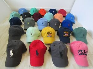 POLO-RALPH-LAUREN-MENS-PONY-BASEBALL-CAP-HAT-ADJUSTABLE-NWT