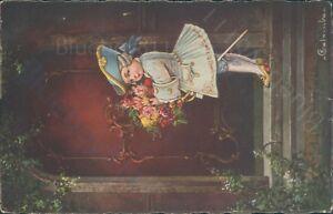 The-pastella-series-Alpha-publishing-co-1929-E-colombo-Musketeer-art-nouveau