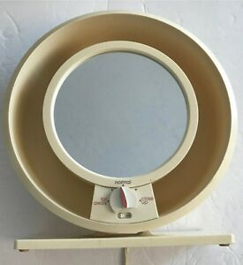 Remington Lighted Makeup Mirror Round Magnifying Model 0409 Ebay