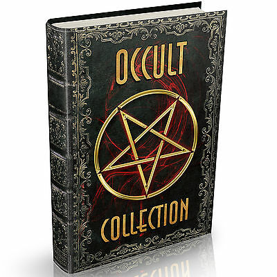 Occult Books 344 on DVD Witchcraft Spirits Demonology Clairvoyance Palmistry OLD