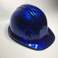 Hydro Dipped Custom Hard Hat Sl Series Kandy Blue Grafiti