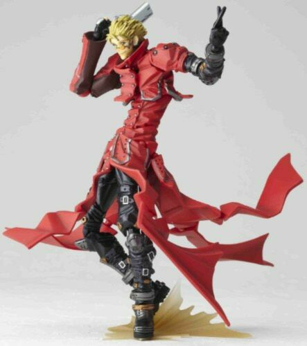 Revoltech Yamaguchi N0.91 Figure Vash the stampede Doll Toy from JAPAN