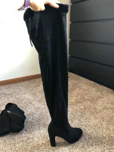 womens over the knee boots size 8