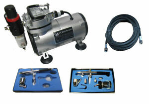 AIRBRUSH-COMPRESSOR-KIT-AIRBRUSH-KIT-DOUBLE-ACTION-AIRBRUSH-KT-132-128