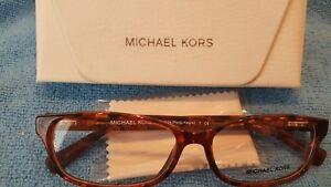 bfa46c15c77d7 Michael Kors MK 4024 3066 Eyeglass Frames Brown Tortoise Porto ...
