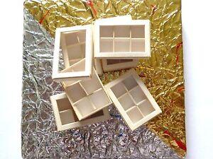 10 Leere Minischachteln 3,5cm X 2,2cm Verkaufspreis