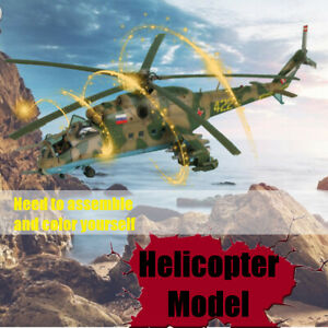 1-48-MiniHobby-80311-Mi-24P-Hind-F-Mi-24D-Hind-D-Helicopter-Assembly-Model-Kits