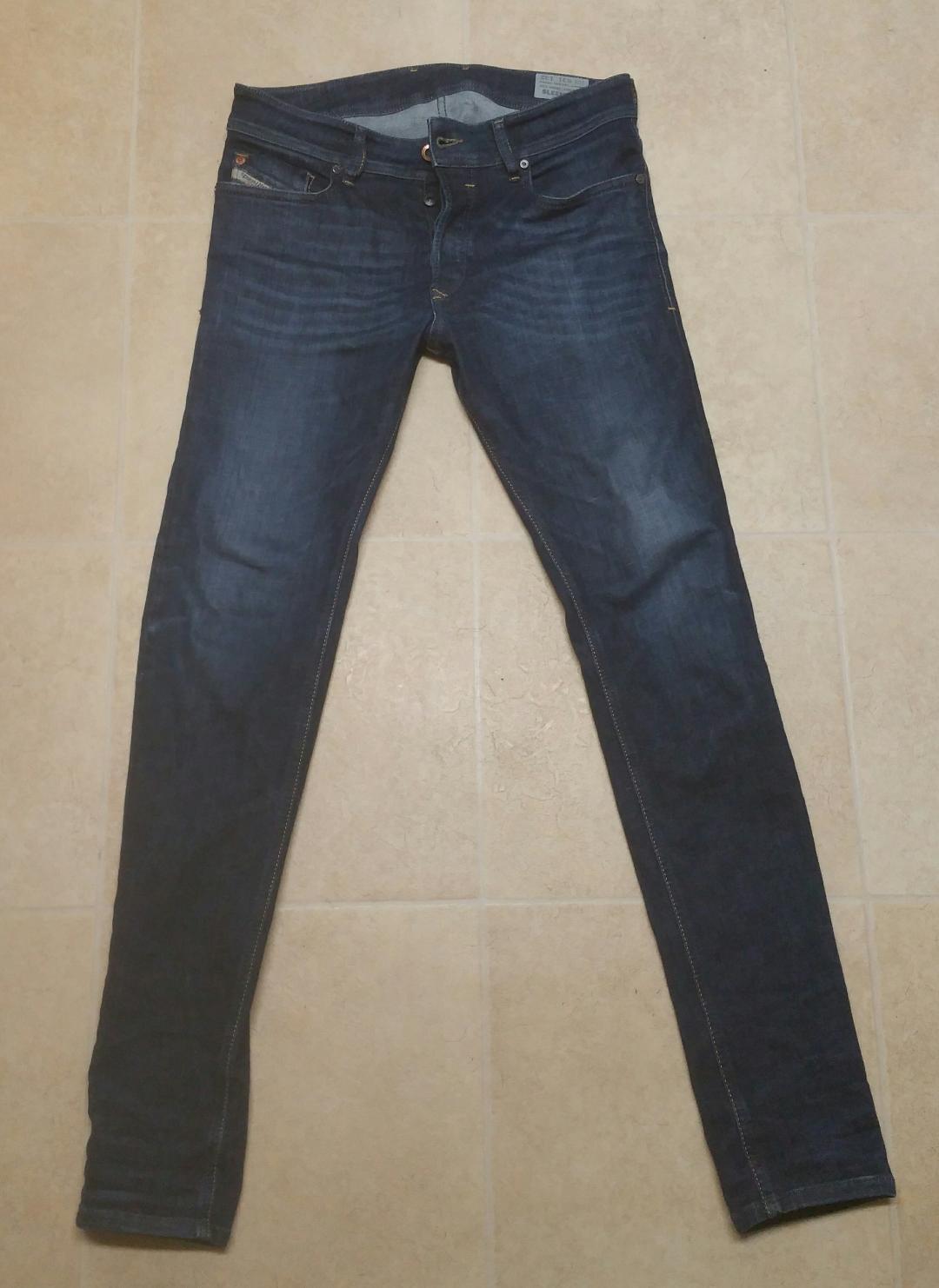 Diesel Men's premium tapered  jeans Waist 31 Long 32