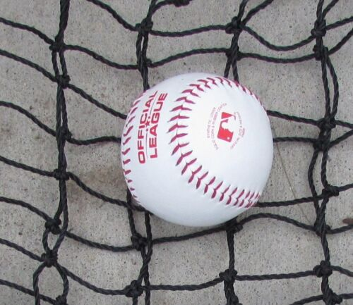 Batting Cage Net Divider Panel 12/' x 55/' #42 Twine 60 PLY for Baseball Softball