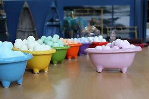 Image Is Loading Ceramic Mini Baths Multiple Colours Great For Storing