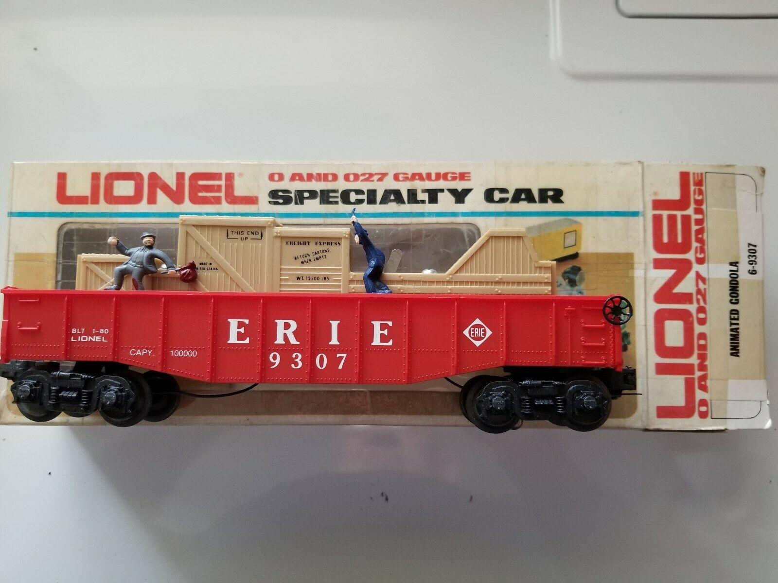 Lionel 6-9307 Erie Animated Gondola Modern Era 80-84 (JS)