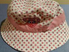 item 6 Sesame Street ZOE pink Coppertone UV Hat Protective Headwear size L  12-18m 45363c40033e