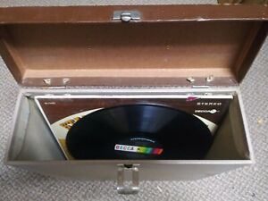 Vintage-Record-12-034-Album-Carrying-Tote-Case-RARE