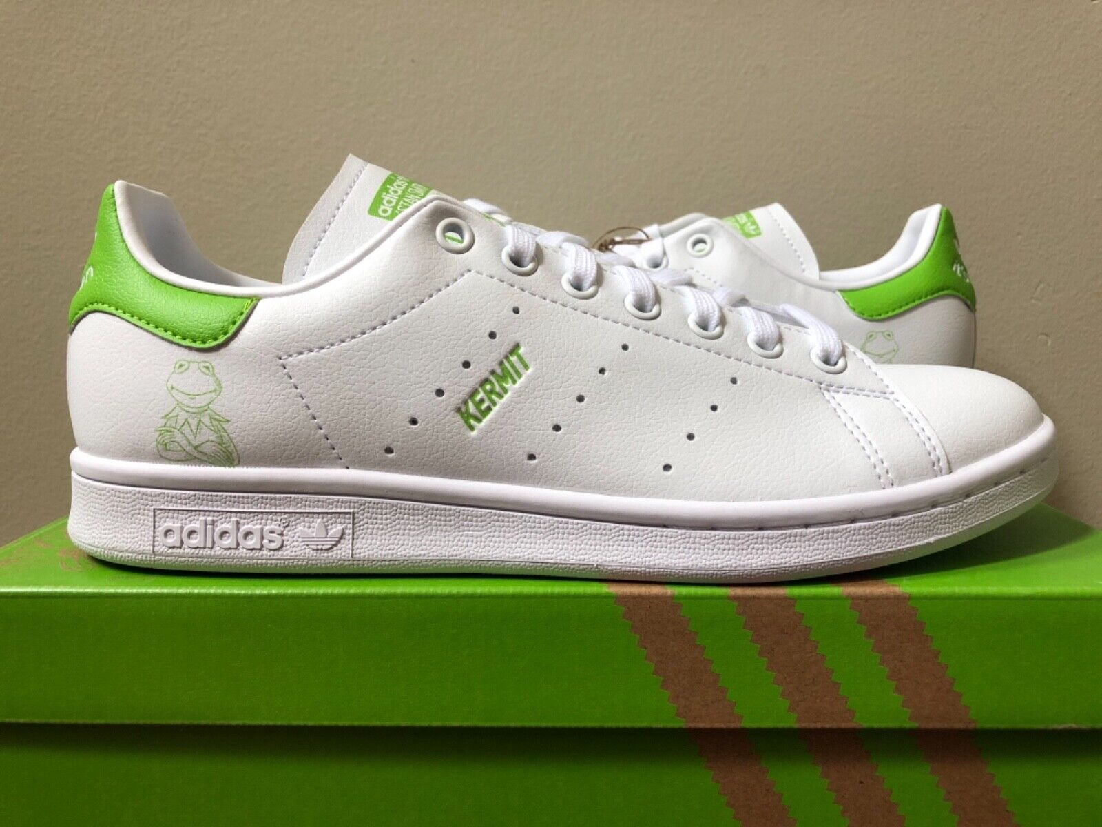 The Muppets x Stan Smith 'Kermit The Frog Allover Print'