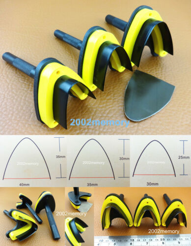 4kinds Leather Craft English Point Belt Strap End Punch Easy Cut Tool 25//30//35mm