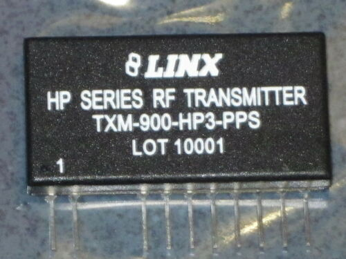 Details about  /LINX TXM-900-HP3-PPS HP SERIES RF TRANSMITTER MODULE