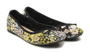 New-Look-Womens-UK-Size-6-Black-Wide-Fit-Ballerina-Shoes
