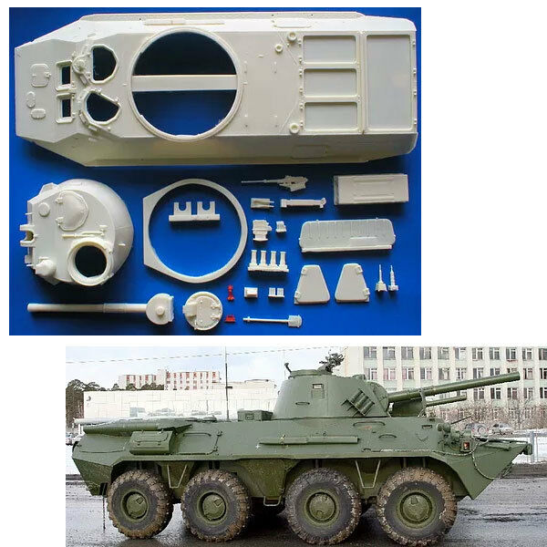 1 35 Russian Venezuelan 2S23 Nona-SVK 120mm SPG Conversion for Trumpeter
