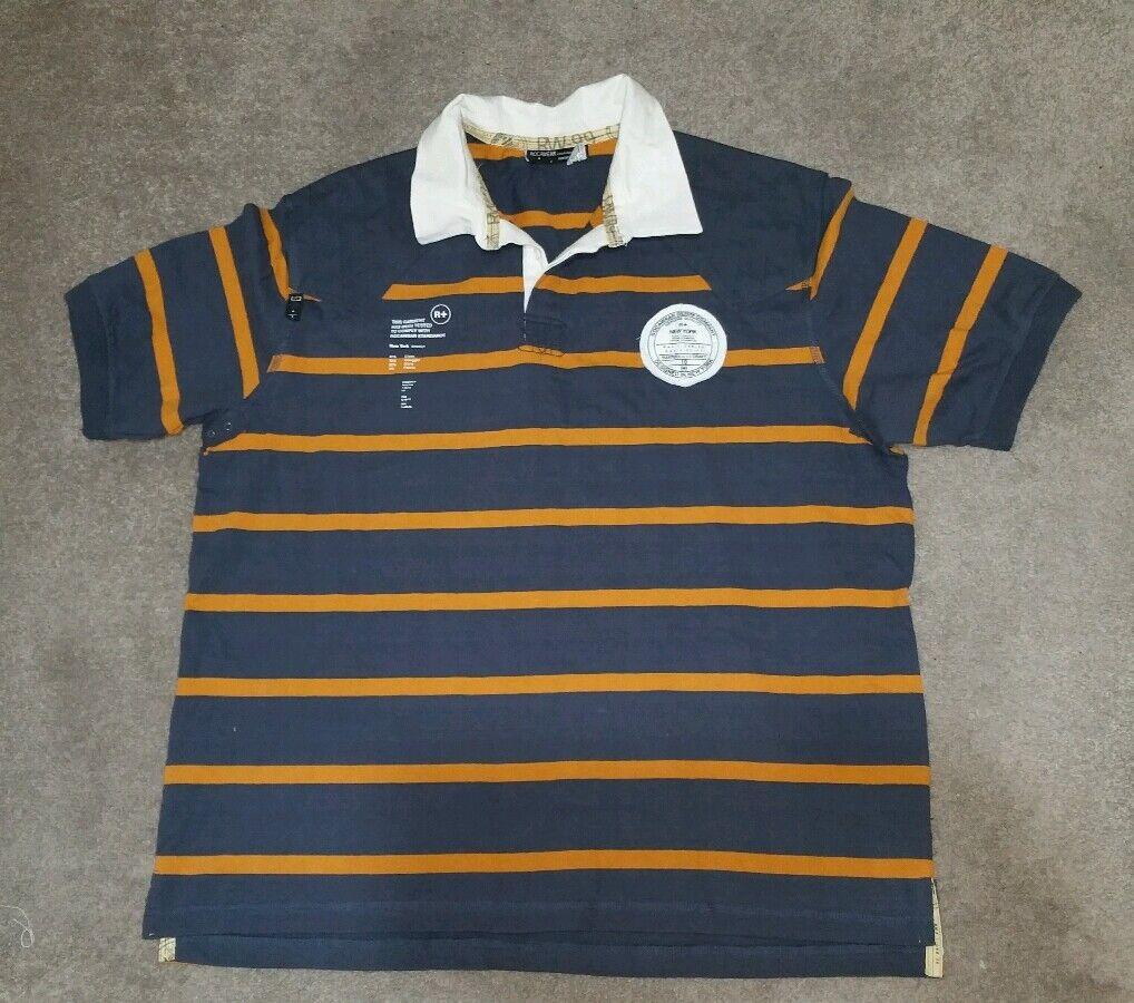 Rocawear men's Short Sleeve Rugby XXL.