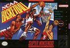 NCAA Basketball (Super Nintendo Entertainment System, 1992)