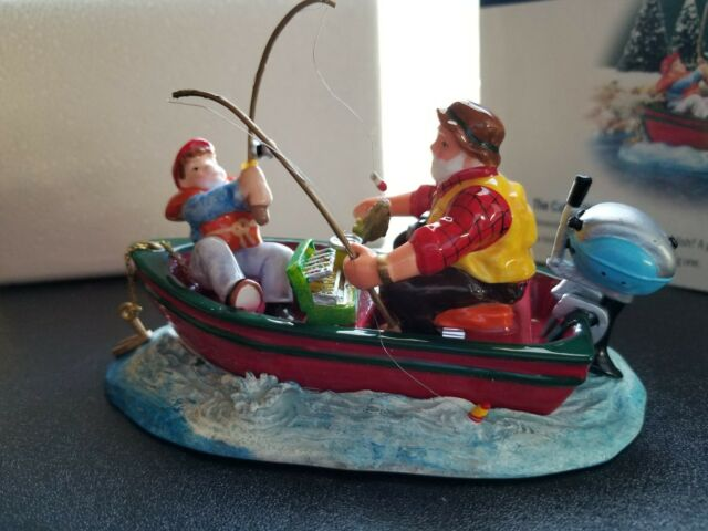 Department 56 The Original Snow Village 'The Catch Of The Day'  #54956 New
