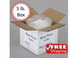 5 lb. Bulk Wholesale Gluten Free White Rice Flour - Made ...