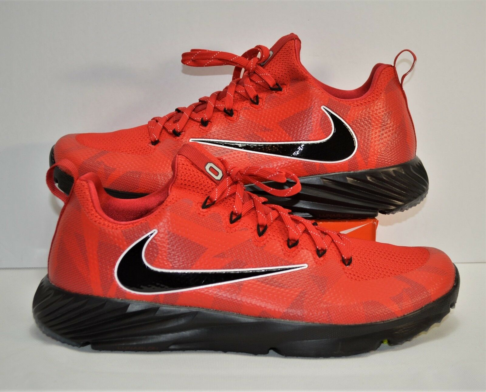 Nike Vapor Speed Turf Ohio State Buckeyes Trainer shoes Sz 12.5 NEW 924776 601