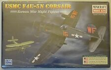 "MINICRAFT 11653 USMC F4U-5N Corsair ""Korean War Night Fighter"" in 1:48"