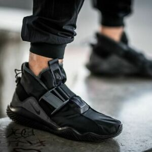 Nike-Komyuter-SE-UK-Size-8-Men-039-s-Trainers-Waterproof-Triple-Black-Shoes