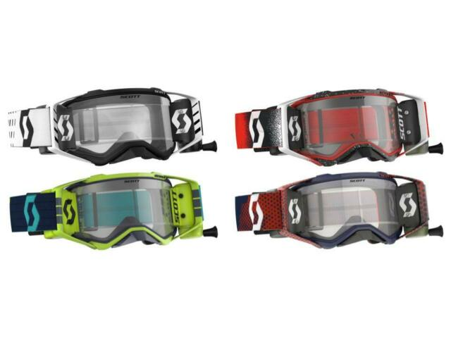 NEW SCOTT USA WORKS GOGGLE FILM REPLACEMENT 6 PACK ROLL OFFS FREE SHIP