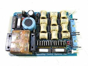 REGULATING CONTROL SYSTEMS 325-08 RCS8800CPFC POWER BOARD ***XLNT***