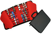 Folding Pocket Knife Storage Carrying Collection Display Case For 40 Knives