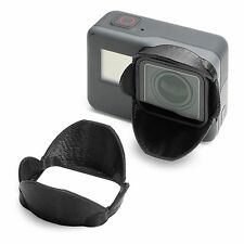 Sonnenblende Lens Hood f. GoPro Go Pro HERO 5 Sun Shade Cap Linse Schutz
