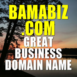 BAMABIZ.COM DOMAIN NAME Great Alabama Business-related domain only 7 letters!