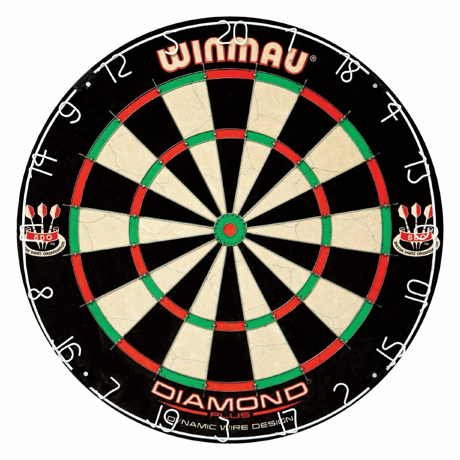 Winmau Diamond Plus Tournament Quality Full Size Dart Board Dartboard