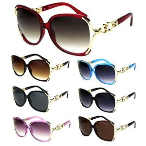 67ad06fe60 Image is loading Womens-Exposed-Lens-Butterfly-Rhinestone-Jewel-Designer- Sunglasses