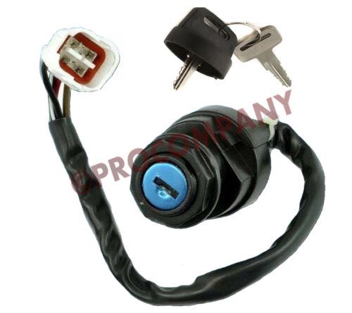 Ignition Key Switch Yamaha BANSHEE YFZ350 YFZ 350 YF-Z350 1995-1999 2000 2001