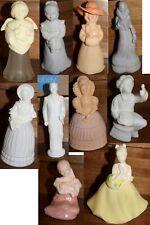 Lot of 10 Vintage Avon Cologne Perfume Bottles Figurines Groom Flower Girl Angel