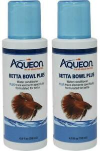 2-Pack-Aqueon-Betta-Bowl-Plus-Water-Care-Conditioner-4-Ounces-Each