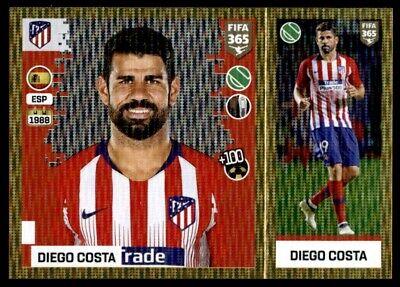 Panini Fifa 365 2019-Diego Costa Atlético de Madrid Arco Iris No 79
