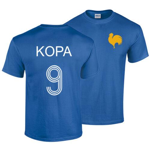 Raymond Kopa T Shirt Kopaszewski France Football Legend Real Angers Stade Reims