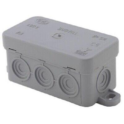 Boite de dérivation étanche 80 x 43 x 40 mm type mini boite de derivation
