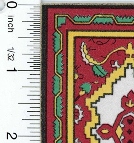Dollhouse Miniature Economy Oriental Rug